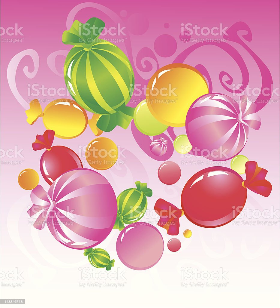 Candy royalty-free stock vector art