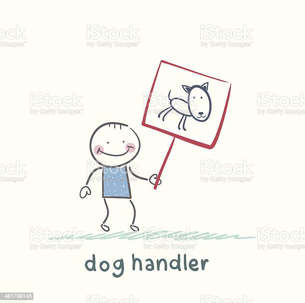 Canine holds poster with a dog vector id461766145?b=1&k=6&m=461766145&s=612x612&h=ydskbap97ggt650 dl00863ju8m2u3nk y3xwiv6clc=