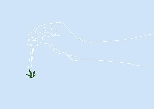 Cannabis as alternative healthcare. CBD