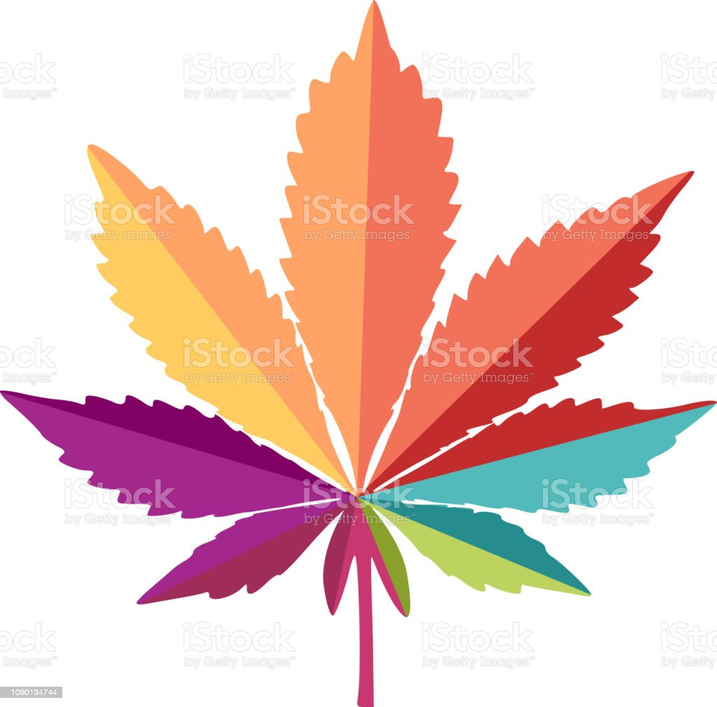 Cannabis Icon Stock Illustration - Download Image Now
