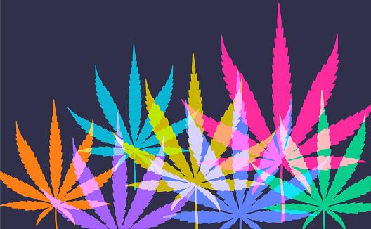 Cannabis Or Marijuana Leaves Stock Illustration - Download Image Now