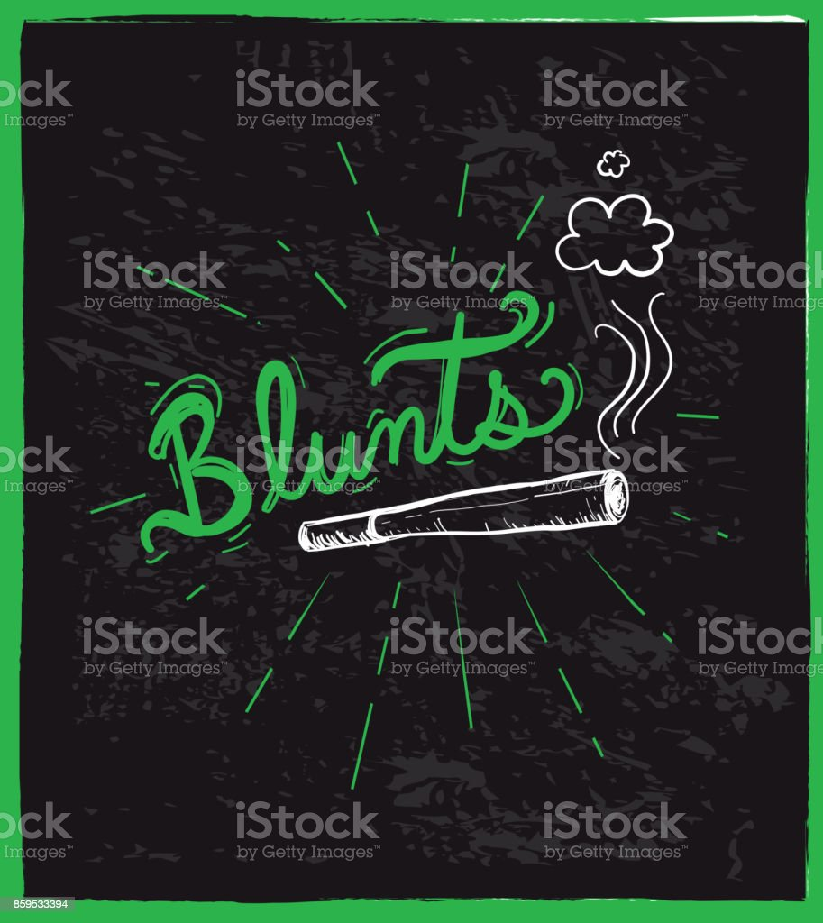 Cannabis weed culture hand drawn labels designs vector art illustration