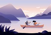 istock Canoeing 1207032146