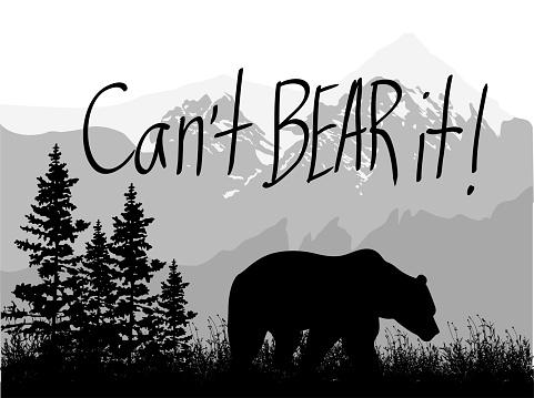 Can't Bear it!