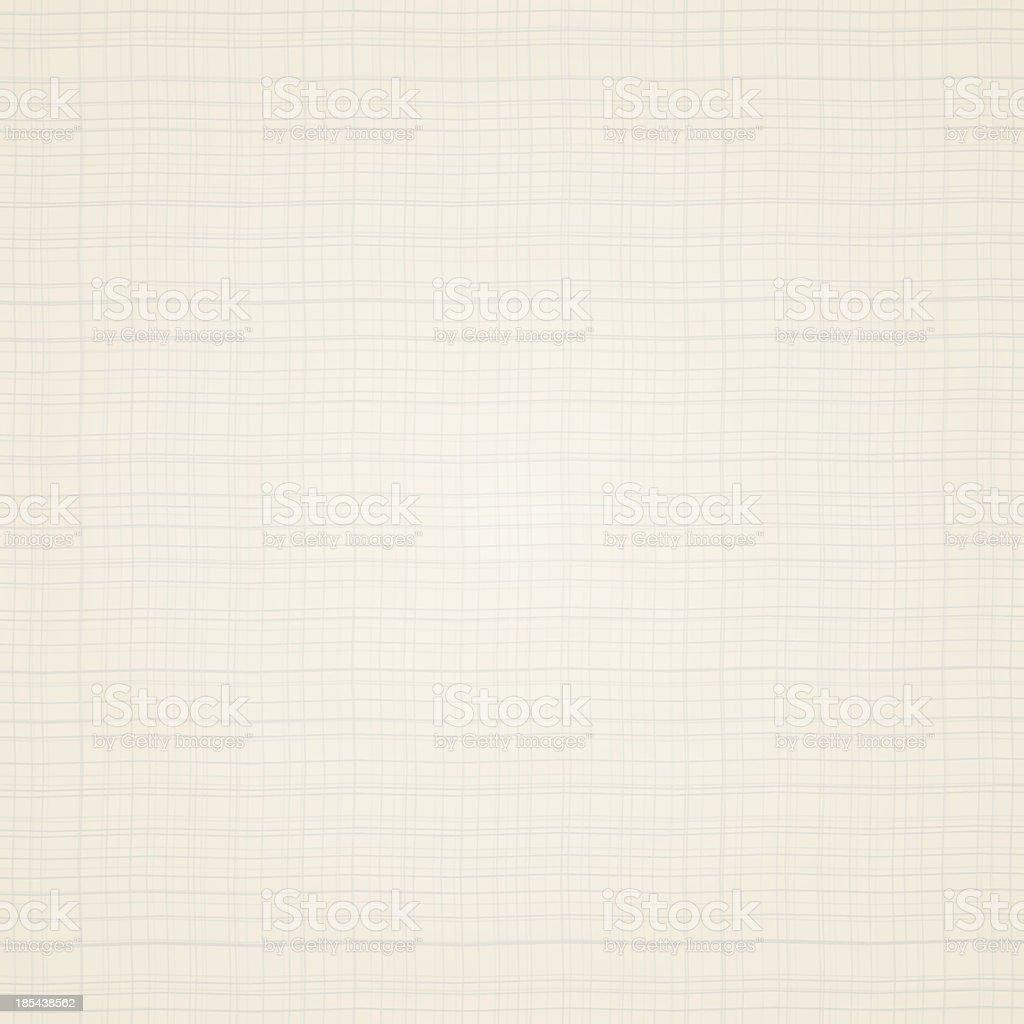 Canvas texture. Beige fabric vector art illustration