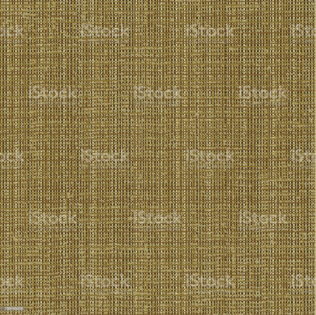 Canvas texture pattern vector art illustration