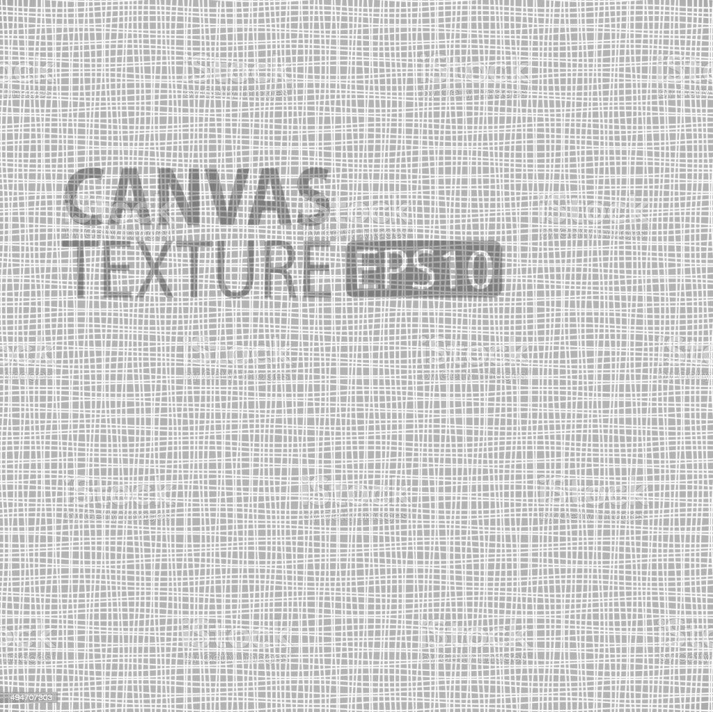 Canvas texture vector art illustration