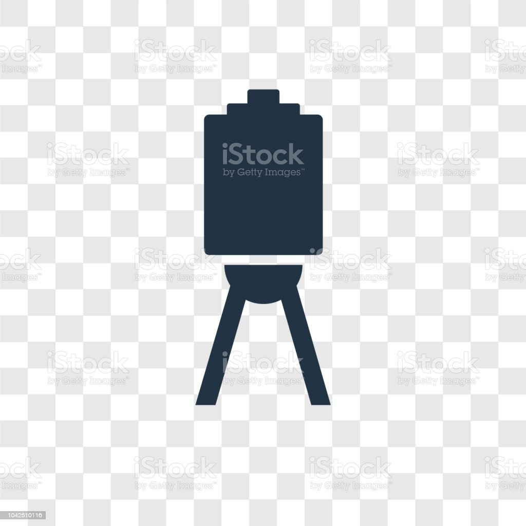 Canvas Vector Icon Isolated On Transparent Background Canvas
