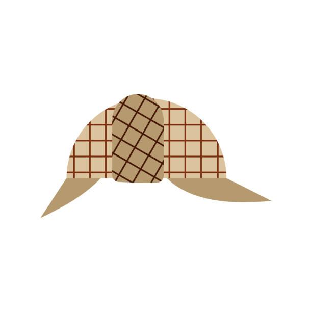 Top 60 Deerstalker Hat Clip Art, Vector Graphics and ...