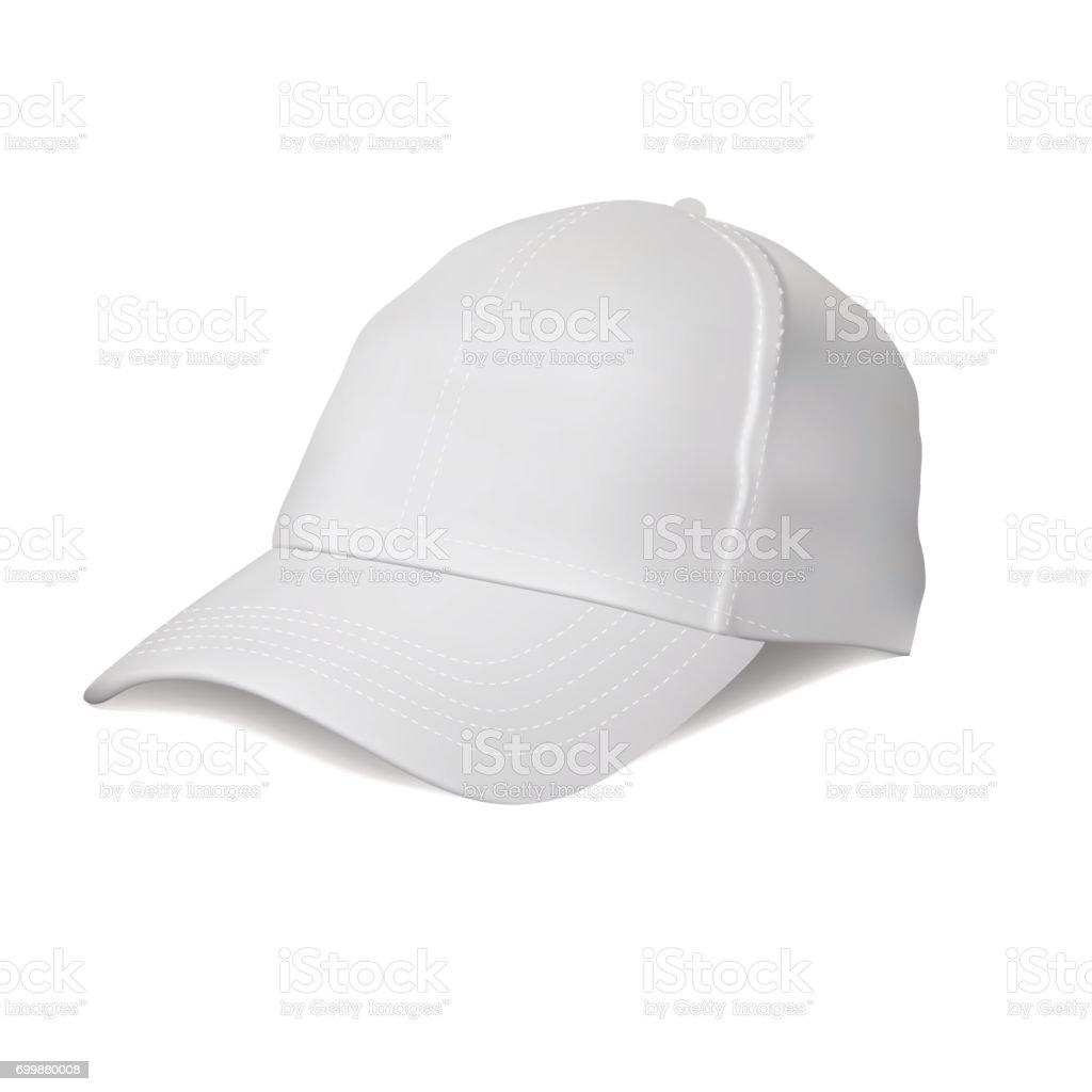 Royalty Free Cartoon Of A Baseball Hat Design Template Clip Art