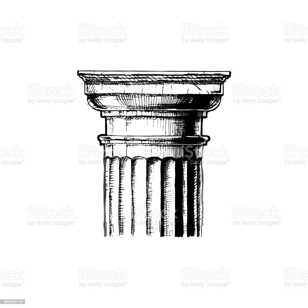 Capital. Classical order.