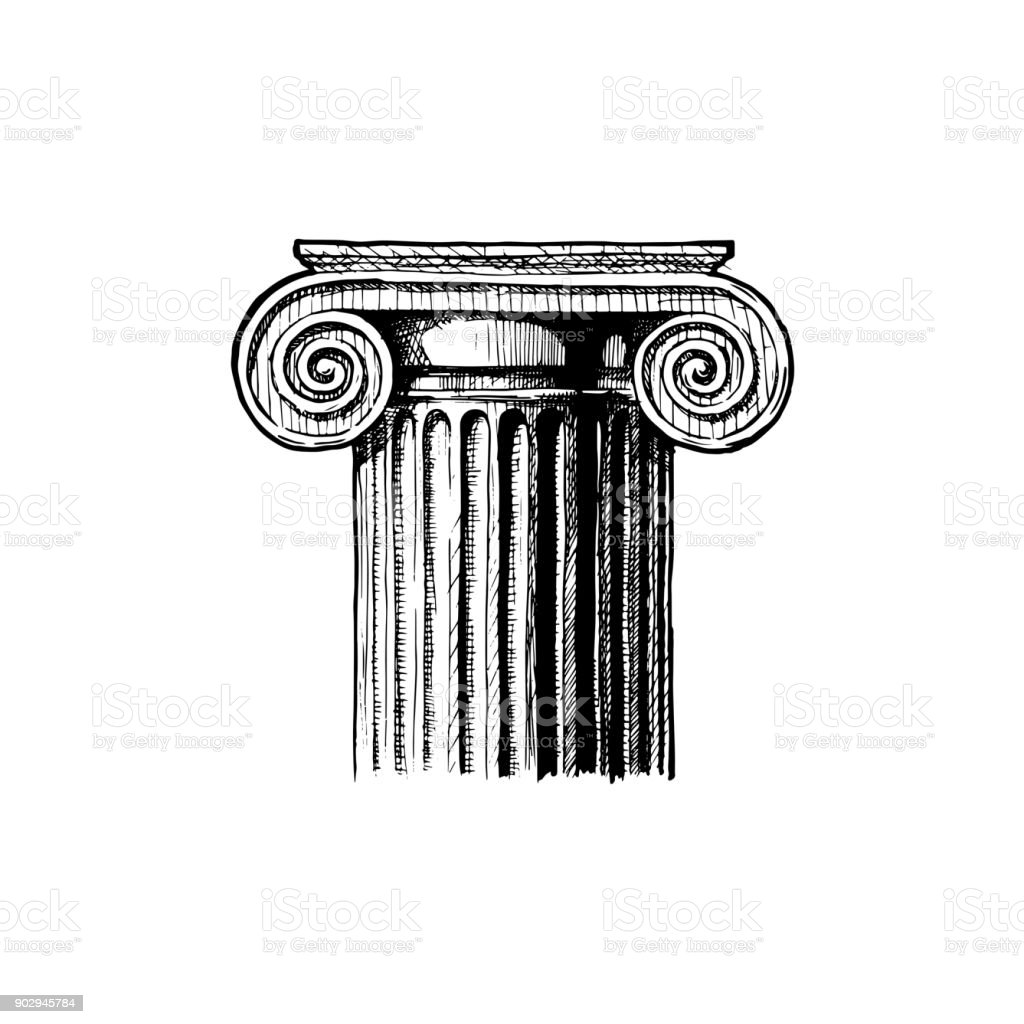 Capital. Classical order.
