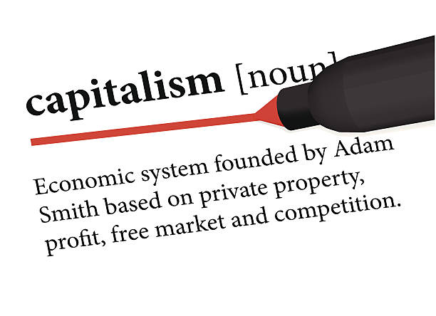 capitalism dictionary definition of capitalism dictionary stock illustrations