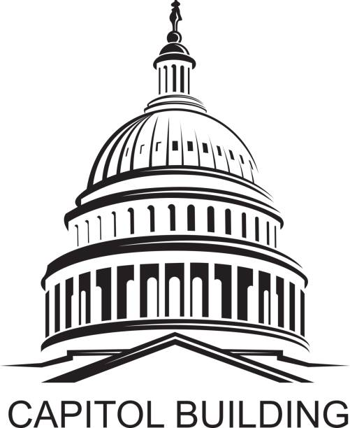 Washington State Capitol Building Clipart
