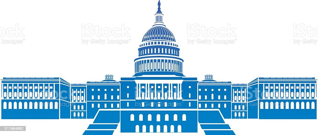 capitol building stock vector art more images of american culture rh istockphoto com austin capitol building vector capitol building vector art