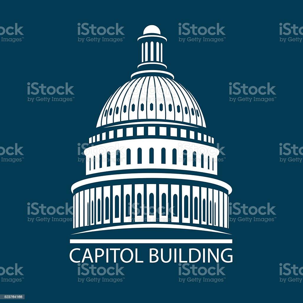 Capitol building – Vektorgrafik
