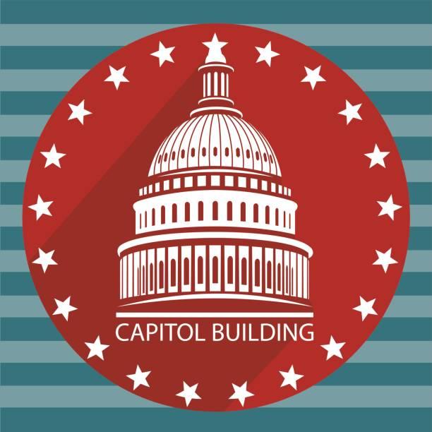 USA Capitol Building. – Vektorgrafik