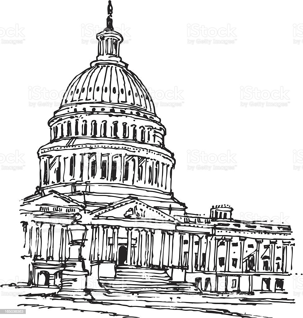 capitol building washington dc stock vector art  u0026 more