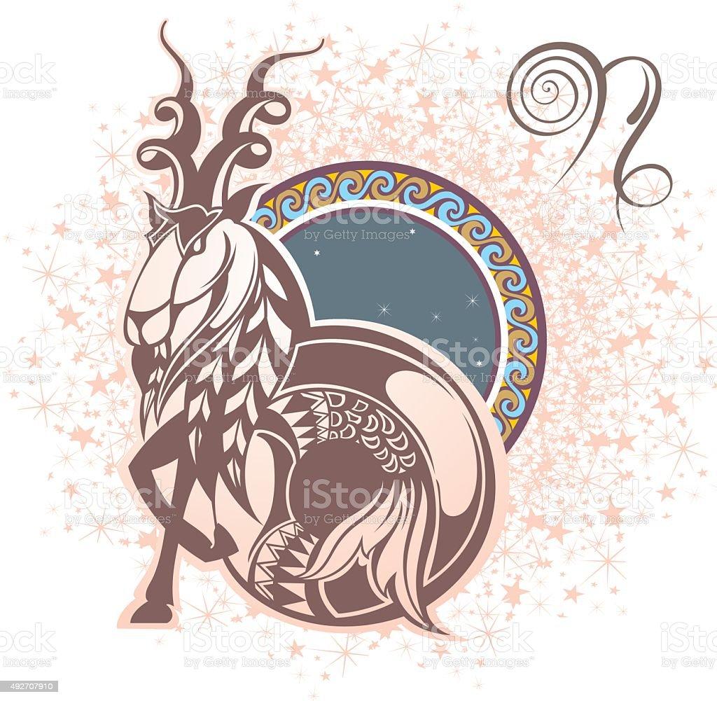 山羊座 12星座のベクターアート素材や画像を多数ご用意 Istock