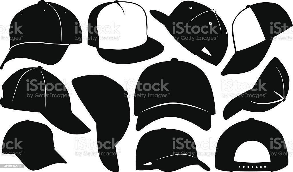 royalty free baseball cap clip art vector images illustrations rh istockphoto com blank baseball hat vector baseball hat vector image