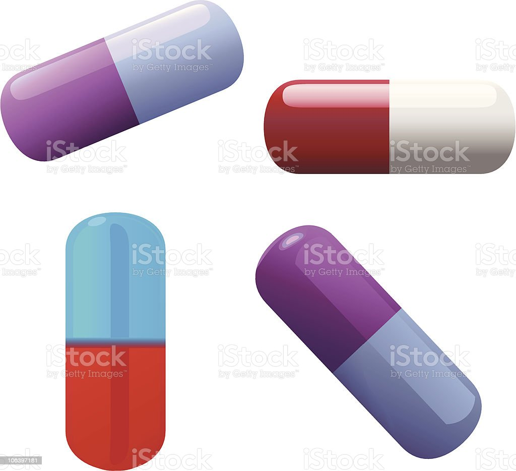 Capsules royalty-free capsules stock vector art & more images of antibiotic