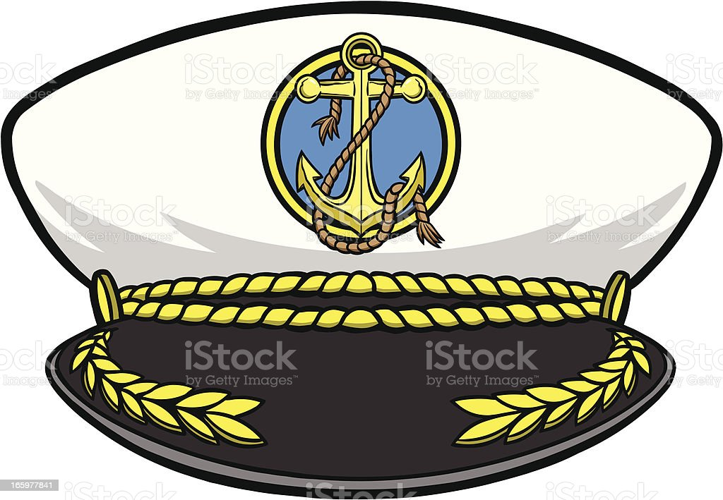Navy Hat Clipart Royalty Free Captain H...