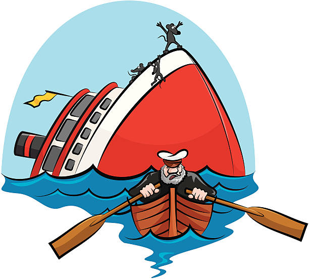Best Sinking Ship Illustrations, Royalty-Free Vector ...