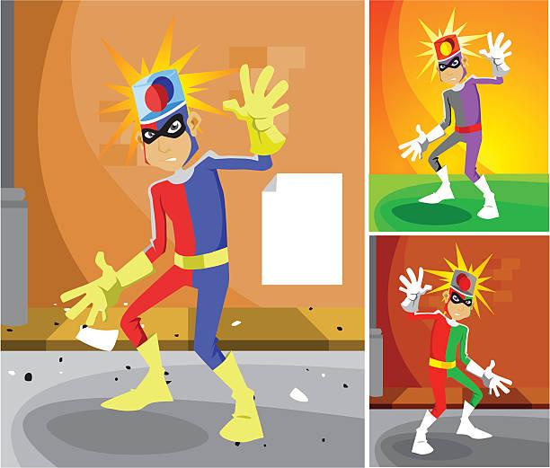 Captain Siren Character vector art illustration
