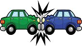 Car Accident Cartoon