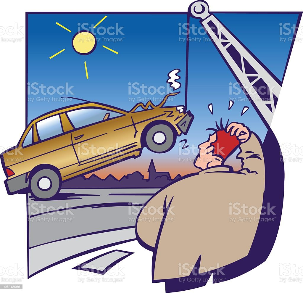 Car accident royalty-free car accident stock vector art & more images of a helping hand