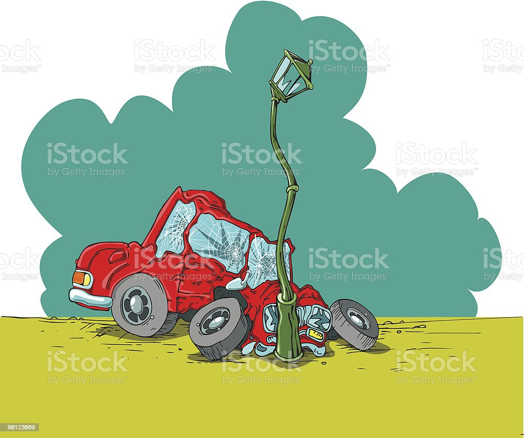 car accident royalty-free car accident stock vector art & more images of bumper
