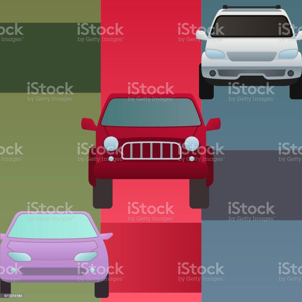 Auto Auto Fahrzeug Transport Typ Bannergestaltung Reisen Rennen ...