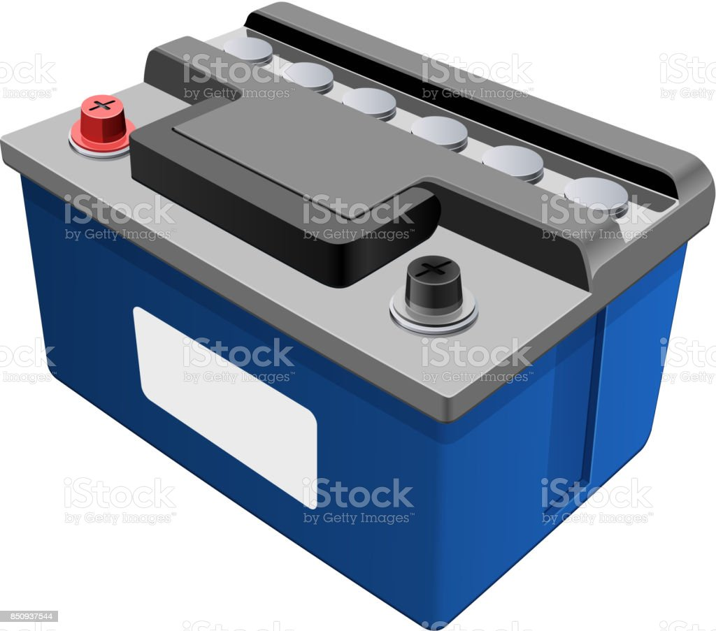 Auto-Batterie-Symbol - Darstellung – Vektorgrafik