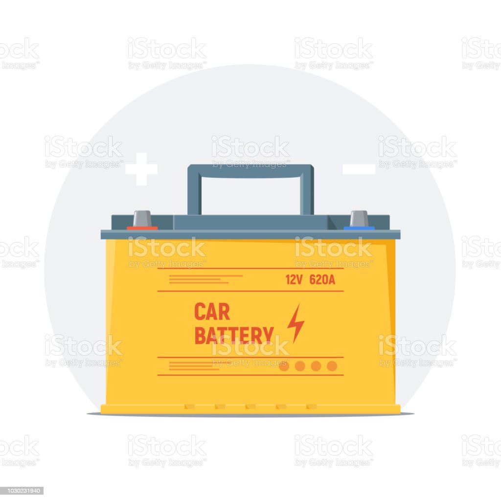 car battery icon isolated yellow battery with plus and minus symbols element of infographics check charge and use car battery vector illustration stock illustration download image now istock car battery icon isolated yellow battery with plus and minus symbols element of infographics check charge and use car battery vector illustration stock illustration download image now istock
