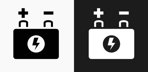 Autobatterie Vektorgrafiken und Illustrationen - iStock