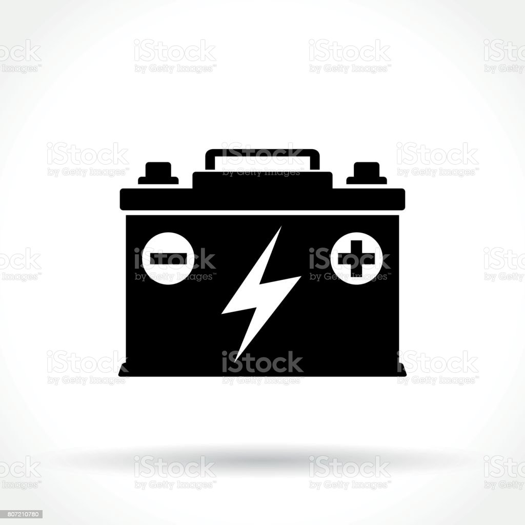 Autobatterie-Symbol – Vektorgrafik
