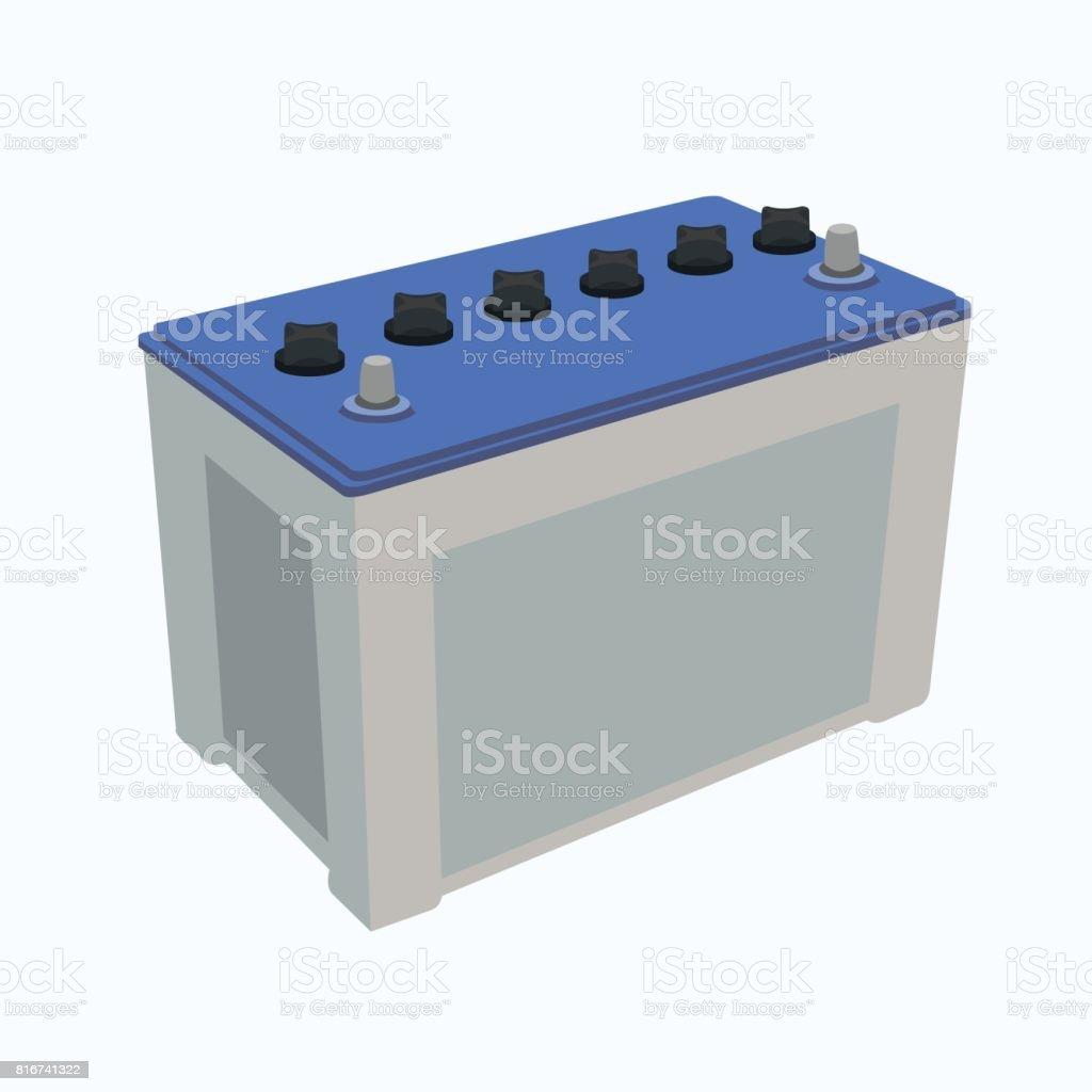 Autobatterie Vektor - – Vektorgrafik