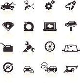 Car Breakdown & Repair Icons