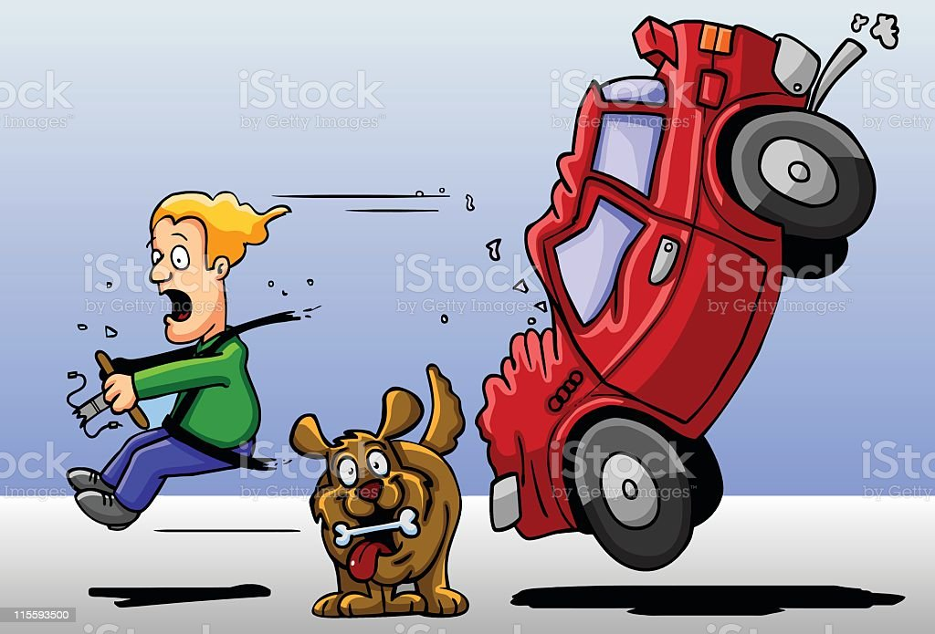 Car Crash Stock Vector Art & More Images of Blue 115593500 | iStock