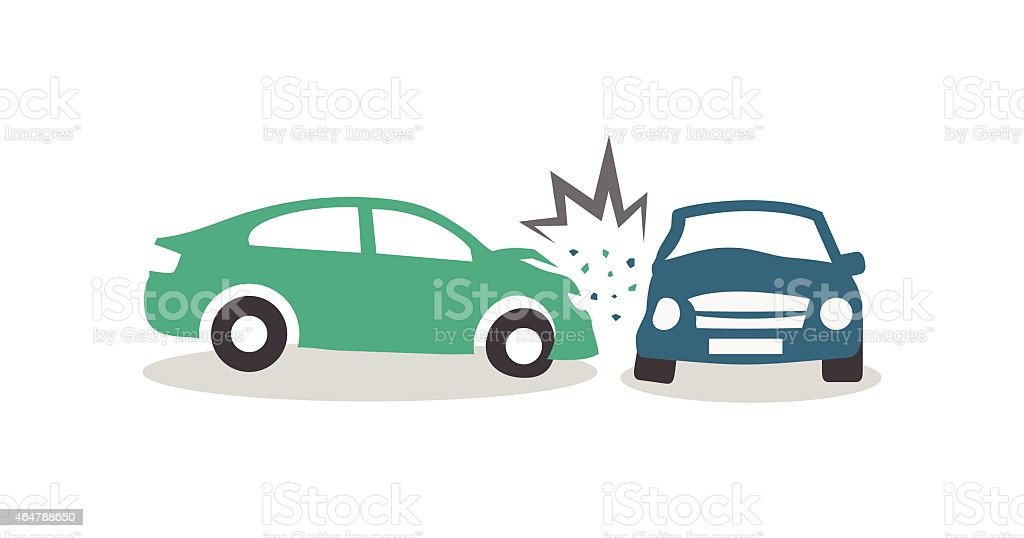 royalty free car crash clip art vector images illustrations istock rh istockphoto com Car Collision Clip Art car crash into tree clip art