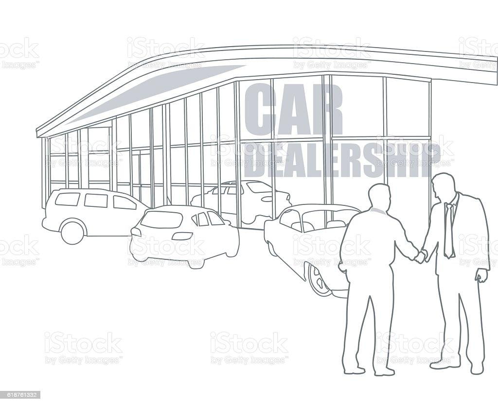 Car Dealership Final Sale – Vektorgrafik