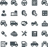 Car, car dealership, transport, icon, icon set, engine, showroom, vector