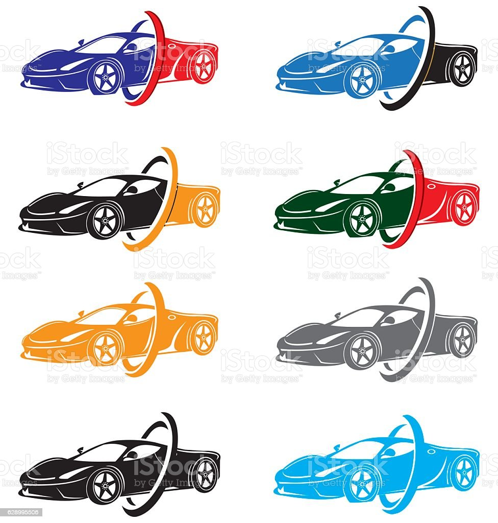 car design concept automotive topics vector template アイデアの