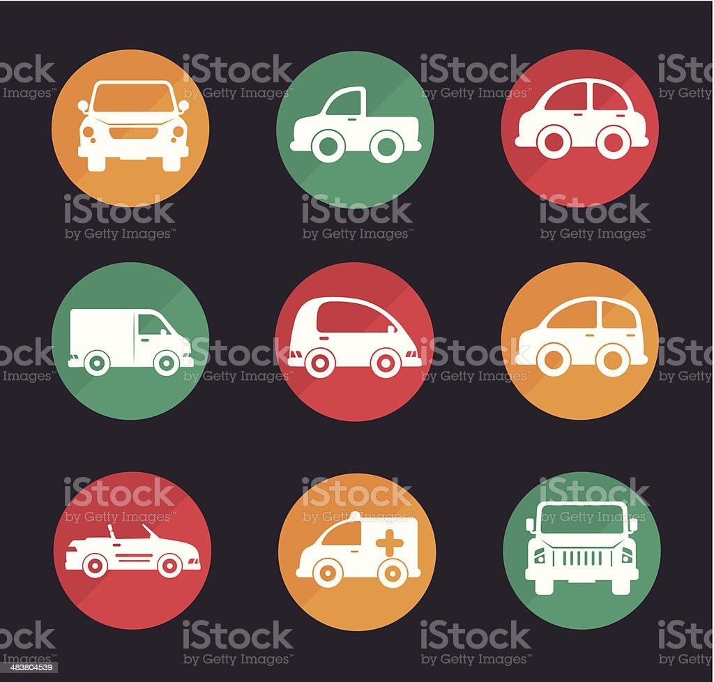 car design vector art illustration