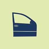 Azerbaijan, Car, Icon, Car Door, Window