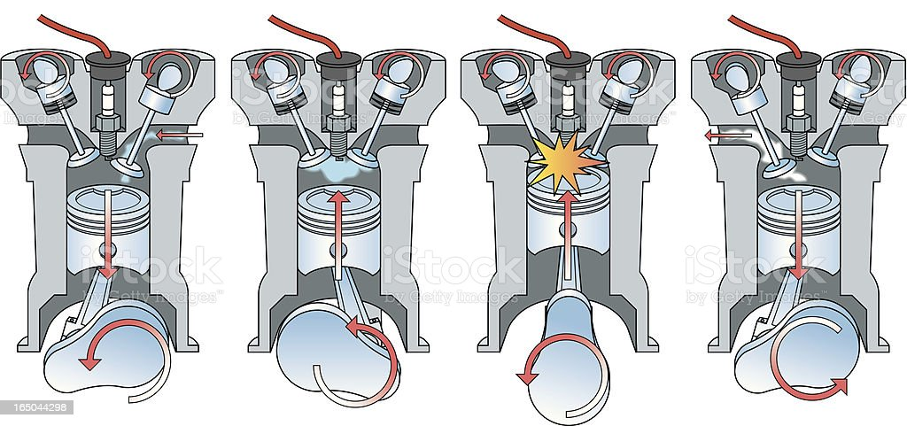 Car       Engine       Diagram    Stock Illustration  Download Image Now  iStock