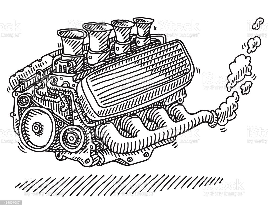 Car Engine Drawing Gm499031607 42634908 on swashplate design