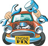 car engine fix