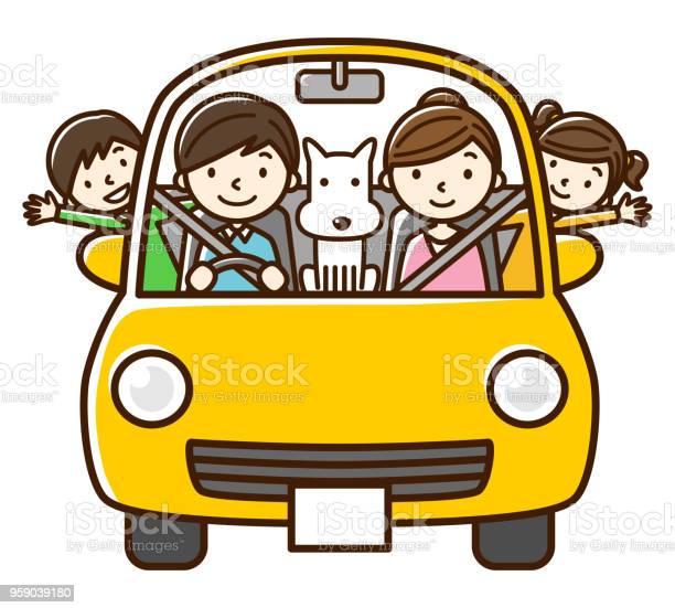 Car family dog vector id959039180?b=1&k=6&m=959039180&s=612x612&h=rwknos6zwe8c0obr2gew8zt8uthpg9t3ofh9uyhyojo=