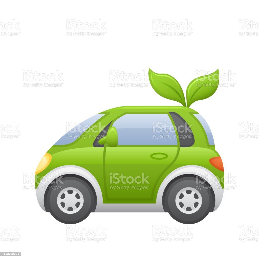 Car Hybrid - Novo Icons vector art illustration